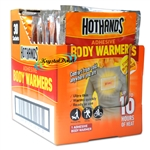 30x Hot Hands Adhesive Body Warmers