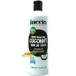 Inecto Coconut Hair SHAMPOO Super Nourishing 500ml / 16.9floz
