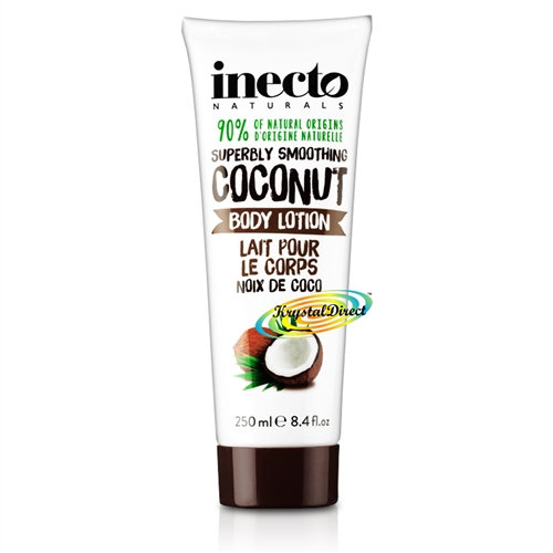 Inecto Coconut BODY LOTION 250ml / 8.4 oz