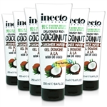 6x Inecto Coconut Shower Creme 250ml
