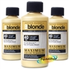 3x B Blonde Cream Peroxide 40vol 12% 75ml