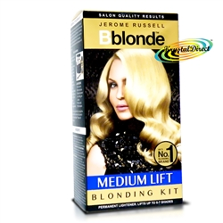 Jerome Russell Bblonde Medium Lift Blonding Permanent Hair Lightener Kit