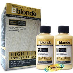 COMB- BBlonde Powder Bleach +Two 12% Peroxide
