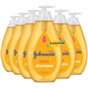 6x Johnsons Baby Shampoo 750ml