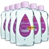 6x Johnsons Baby Oil 500ml