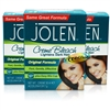 3x Jolen Original Facial Cream Creme Bleach Lightens Excess Dark Hair 30ml