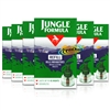 6x Jungle Formula Refill Mosquitoe Killer 35ml Lasts up to 45 Days