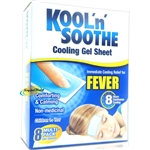 Kool 'n' Soothe Kids Fever Multipack 8 Immediate Cooling Relief For 8 Hours