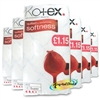6x Kotex Maxi Super Quilted Soft 14 Sanitary Protection Pads