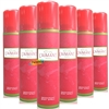 6x L'aimant Perfumed Deodorant Body Spray 75ml