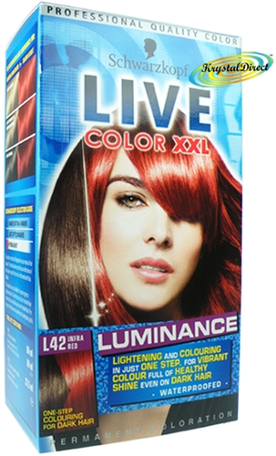 Schwarzkopf Live Color Xxl L42 Infra Red Hair Colour One