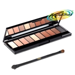 Loreal La Palette Nude 02 Beige Eye Shadow Make Up Pallet With Mirror