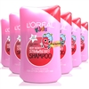 6x L'Oreal Kids VERY BERRY STAWBERRY Shampoo 250ml
