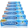 6x Macleans Freshmint Flouride Plaque Toothpaste 125ml