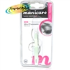 Manicare Mini Tweezers MINT Stainless Steel Eye Brow Hair Remover With Pouch