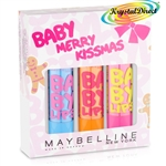 Maybelline Baby Merry Kissmas Xmas Gift Set Lip Balms