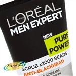 Loreal Men Expert Pure Power Scrub Anti Blackhead 150ml