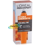 Loreal Men Expert Hydra Energetic Eye Roll On Anti Bags Anti Dark Circles 10ml