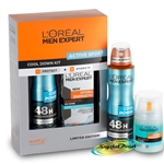 Loreal Men Expert Active Sport Cool Down Kit Xmas Gift Set Protect Hydrate