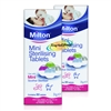 2x Milton Mini Sterilising 50 Tablets For Maximum Protection
