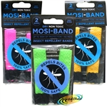 3x Mosi Band Insect Repellent Dry Non Toxic Deet Based Wrist Ankle Bands