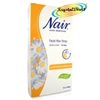 Nair 12 Body WAX STRIPS Hair Remover For Legs & Body with Camomile Extract