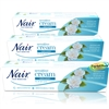 3x Nair SENSITIVE Hair Removal Cream Legs Bikini 80ml