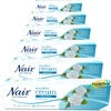 6x Nair SENSITIVE Hair Removal Cream Legs Bikini 80ml
