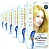 6x Clairol Nice n Easy Root Touch Up Medium Blonde #8 Permanent Hair Colour Dye