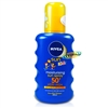 Nivea Moisturising Sun Spray for Kids Very High SPF50+ 200ml UVA/UVB Protection