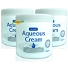 3x Nuage Aqueous Moisturiser Fragrance & Lanolin Free Skin Wash Soap Cream 500ml