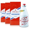 3x Old Spice WHITEWATER Aftershave 100ml