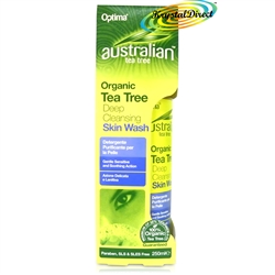 Optima Australian Organic Tea Tree Deep Cleansing Skin Wash 250ml