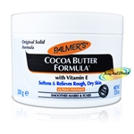 Palmers Cocoa Butter Formula Cream 200g Vitamin E Smoothes Marks & Scars