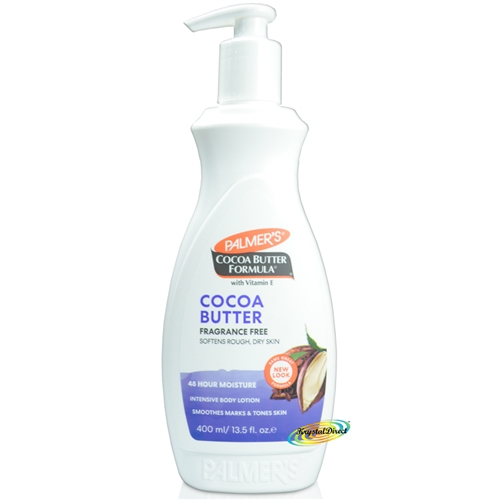 Palmers Cocoa Butter FRAGRANCE FREE LOTION 400ml