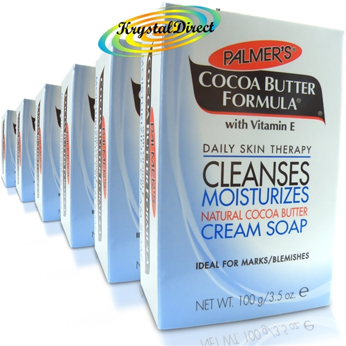 a216e8bd78c1f9 6x Palmers Cocoa Butter Formula Daily Natural Moisturising Soap 100g Vitamin  E · Larger Photo ...