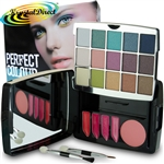 Perfect Colour The Look Eye Lip & Cheek Palette Blusher Shadow Lipstick Gift Set