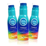 3x PlayTime Tingle Stimulating Lube Water Based Intimate Lubricant 75ml Discreet Packaging