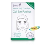 Pretty Gel Eye Patches Soothe Puffy Tired Eyes 4 Treatments