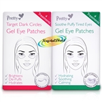 Pretty Gel Eye Mask Pad Patches Soothe Puffy Tired Eyes & Target Dark Circles