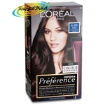 Loreal Preference Paris 4.01 NATURAL DARK BROWN Permanent Hair Colour Dye