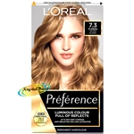 Loreal Infinia Preference Florida 7.3 HONEY BLONDE Permanent Hair Colour Dye