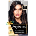 Loreal Infinia Preference Brasilia 3 DARK BROWN Permanent Hair Colour Dye