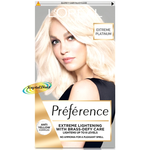 Loreal Preference Les Blondissimes Extreme Platinum Hair Lightener Colour Dye