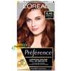 Loreal Preference 6.45 Brooklyn INTENSE COPPER AUBURN Permanent Hair Colour Dye