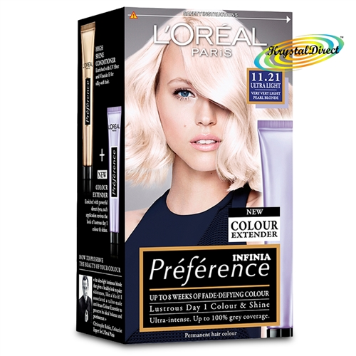 Loreal Preference 11 21 Ultra Light Very Very Light Pearl