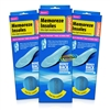 3x Profoot Memoreze Ultra Light Moulding Foam Cushion Improved Comfort Insoles