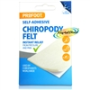 Profoot Chiropody Felt Self Adhesive Soft Padding Foot Pressure & Pain Relief
