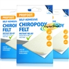 3x Profoot Chiropody Felt Instant Pressure Pain Relief Soft Self Adhesive Padding