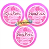 3x Quickies Nail Varnish Remover Wipes 20 Polish Removal Pads Travel Handbag Size